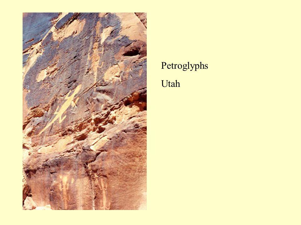 Petroglyphs Utah