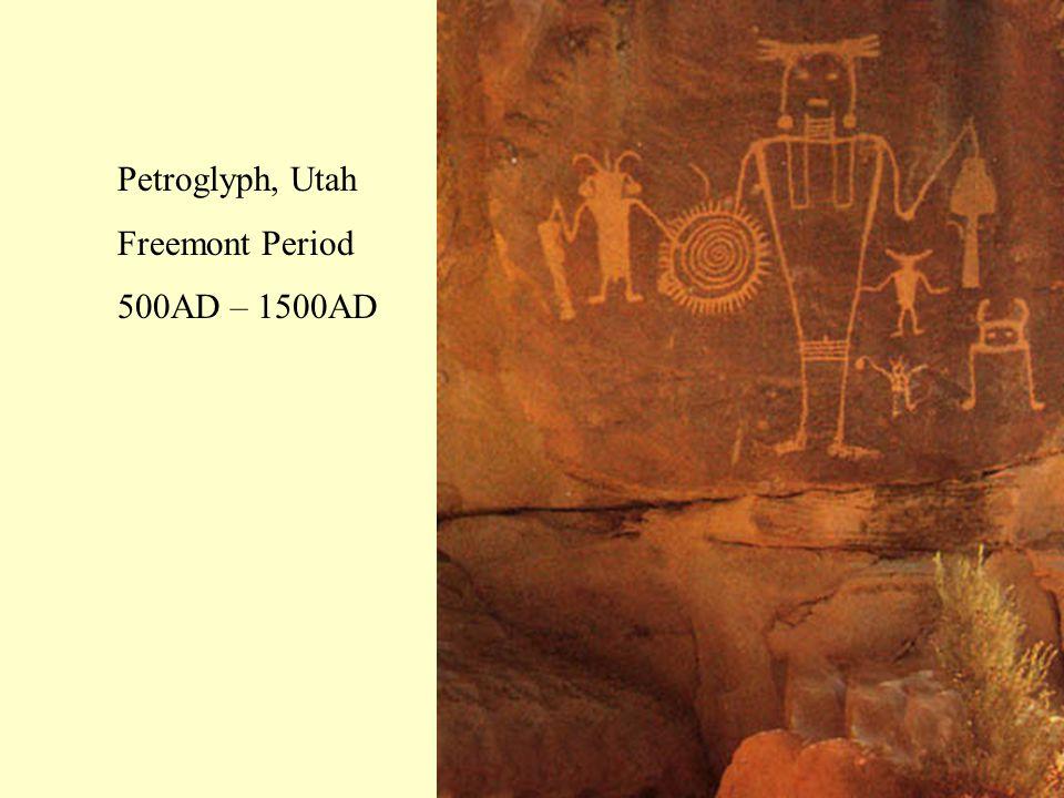 Petroglyph, Utah Freemont Period 500AD – 1500AD