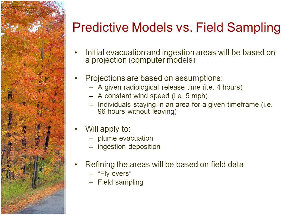 Predictive Models vs.