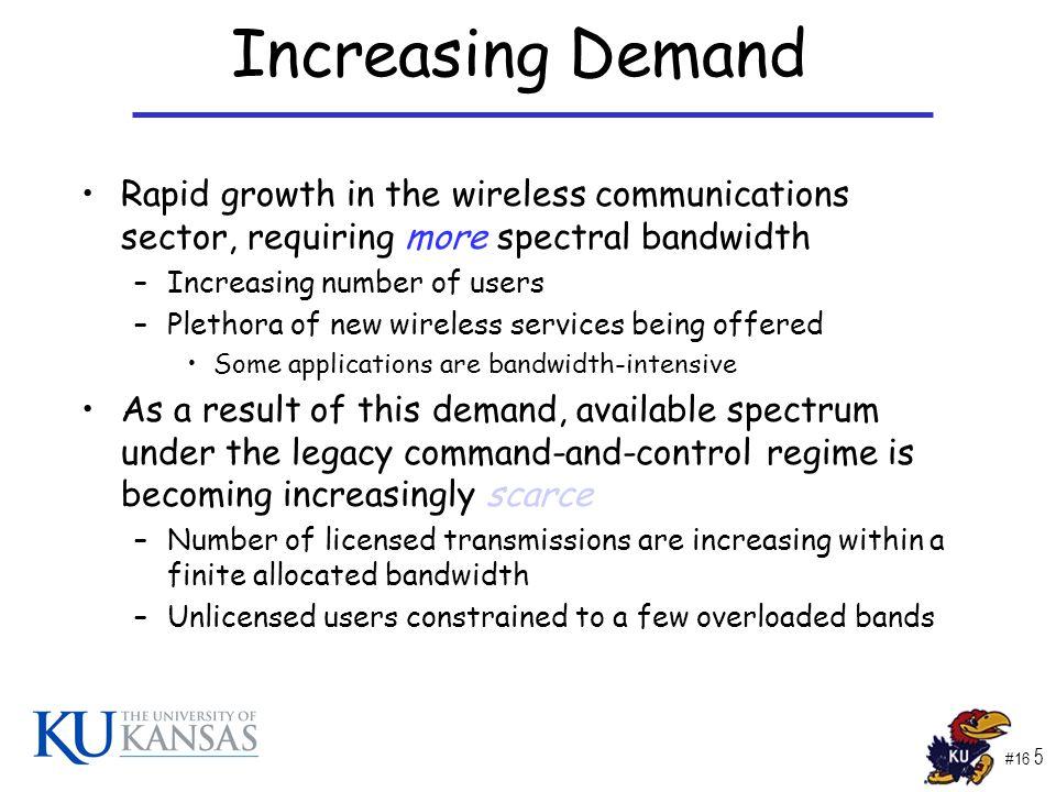 #16 6 Increasing Demand Source: CTIA 200 Million Subscribers!