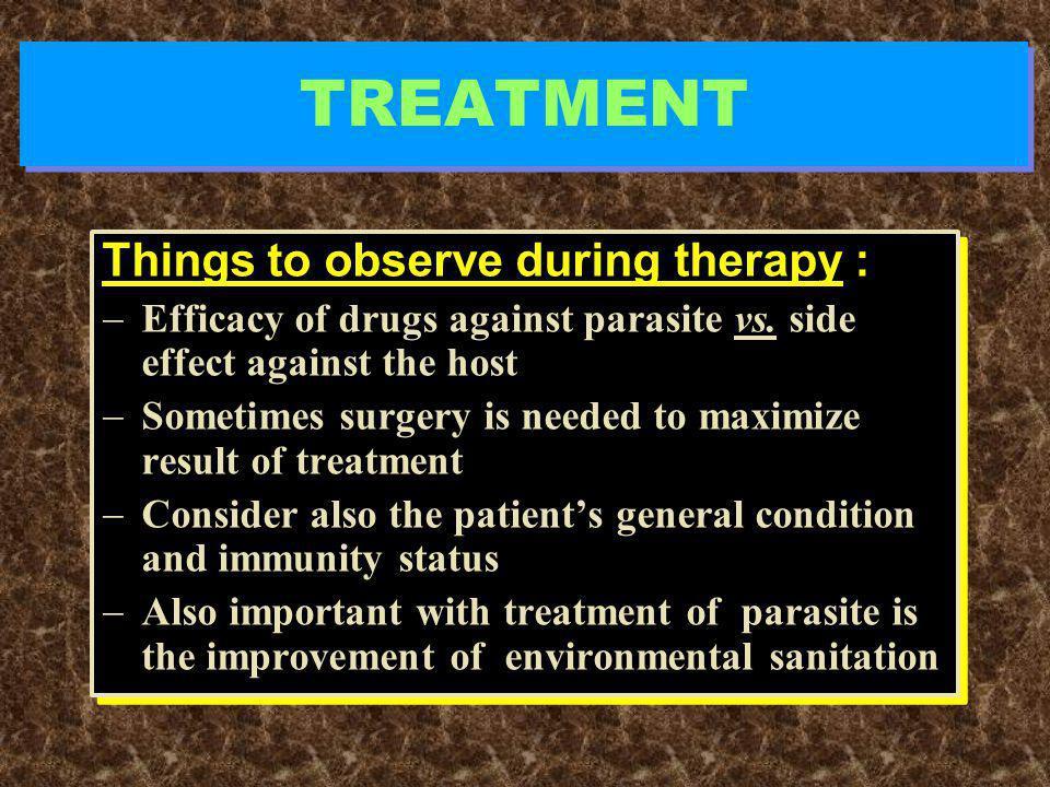 TREATMENT  Mass treatment  Mass treatment  Individual  Type of treatment  Type of treatment