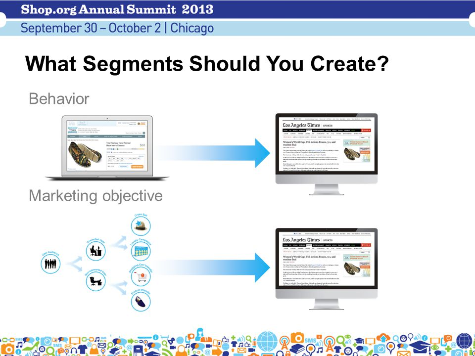 What Segments Should You Create Behavior Marketing objective