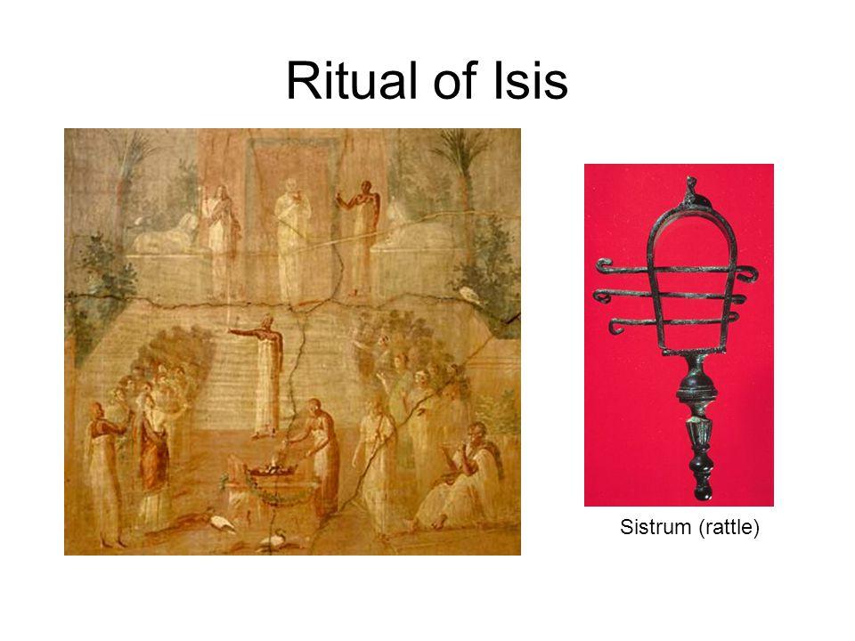 Ritual of Isis Sistrum (rattle)