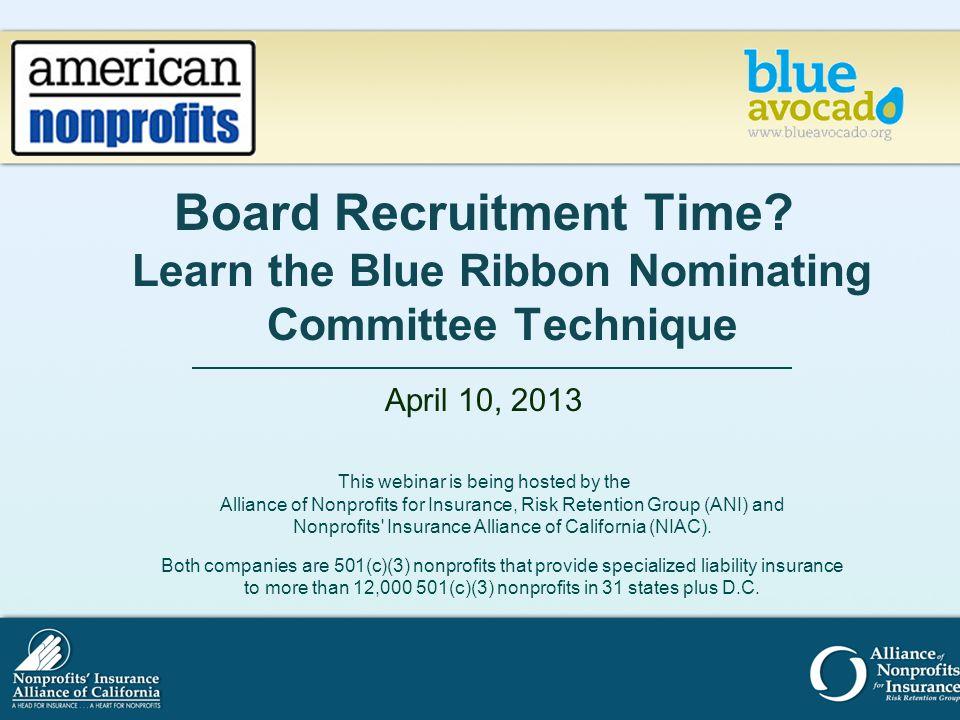 Board Recruitment Time.