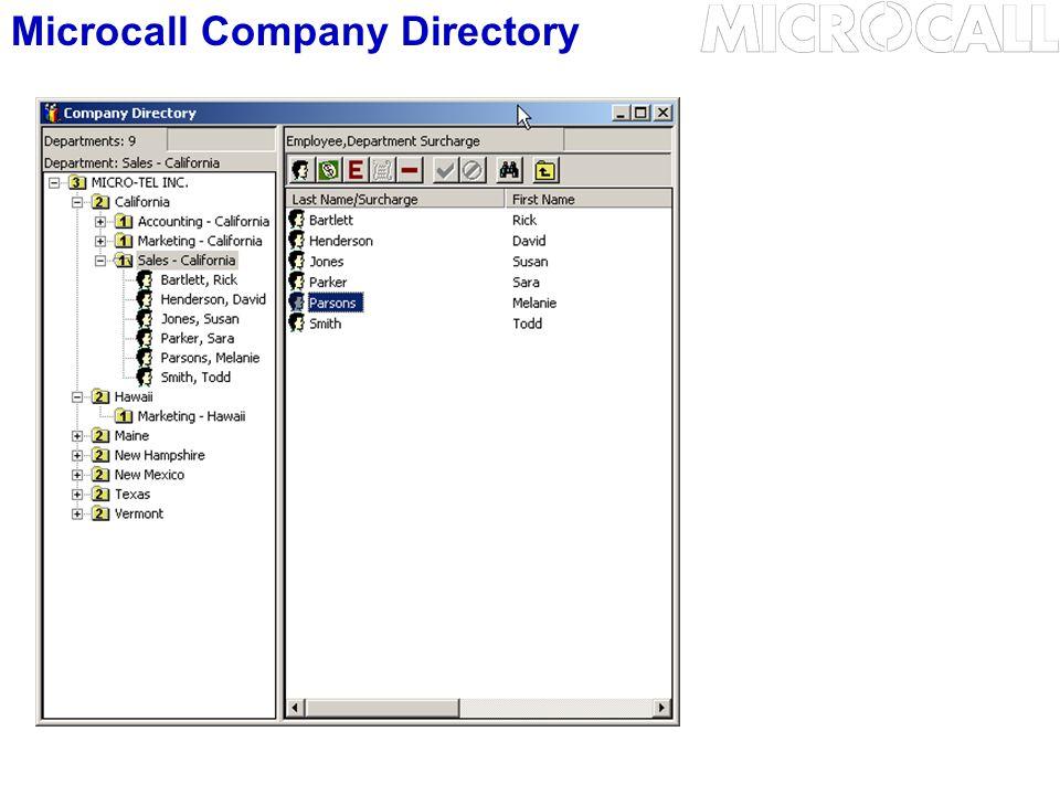 Microcall Company Directory
