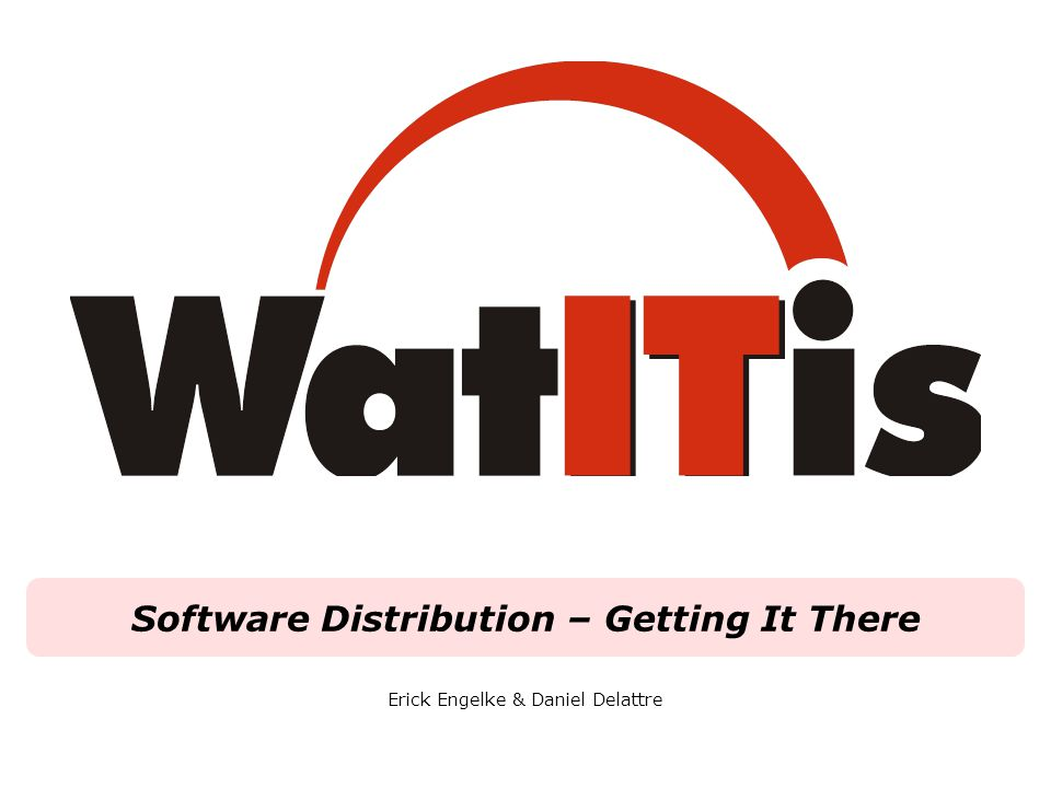 WatITis   Enabling The 6th Decade Plan Through Effective I.T.