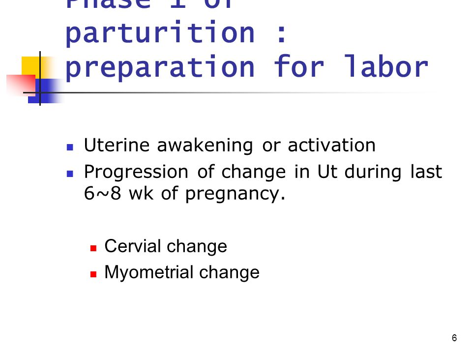 7 Phase 1 of parturition : Cervial change Initiation of parturition : Cx soften, yield, more readily dilatable Fundus transformed to produce effective contraction that drive fetus through Cx & birth canal Failure of coordinated interaction  unfavorable preg outcome