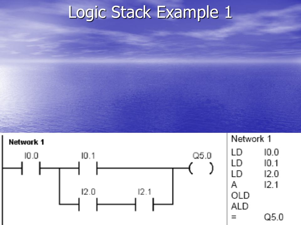 Logic Stack Example 1