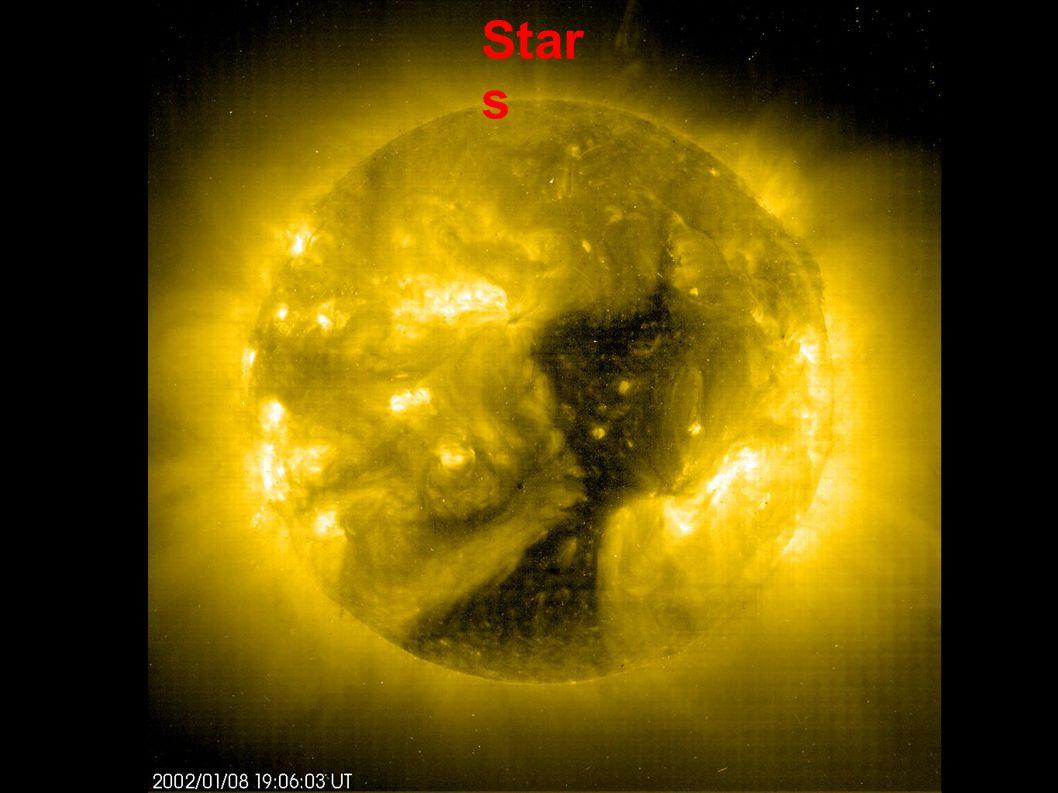 Mass Radius OB type stars are up to 100 solar masses M type stars are around 0.1 solar masses
