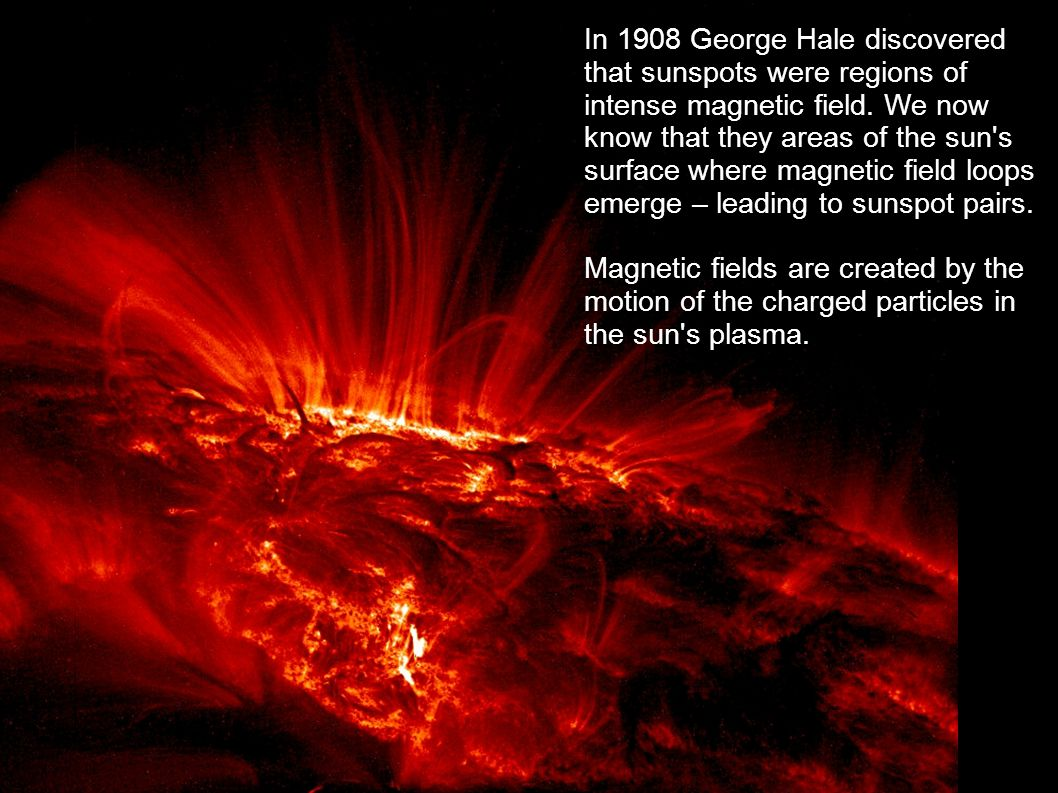 The solar wind continually bombards the Earth with charged particles from the Sun s plasma, that give rise to the Aurora.