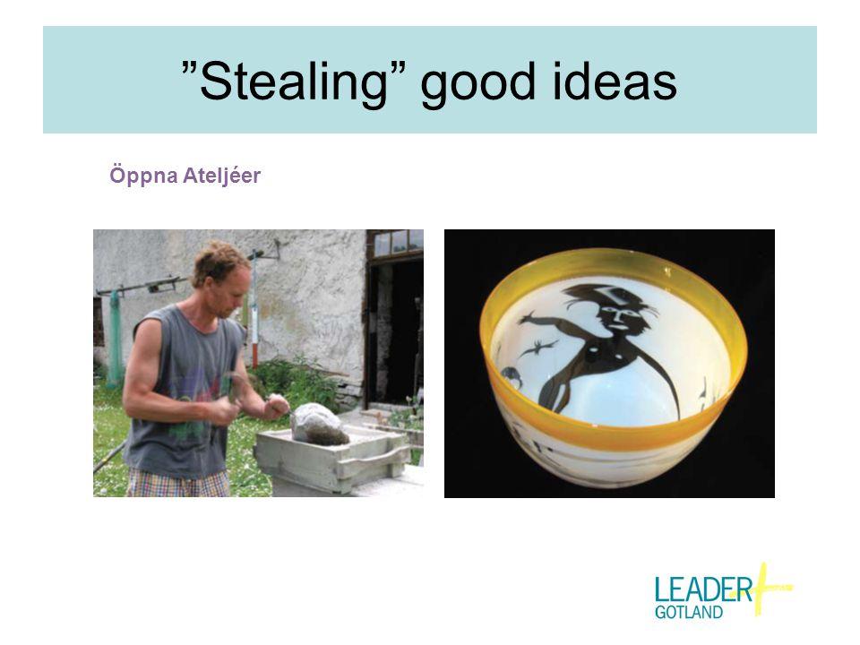 Stealing good ideas Öppna Ateljéer