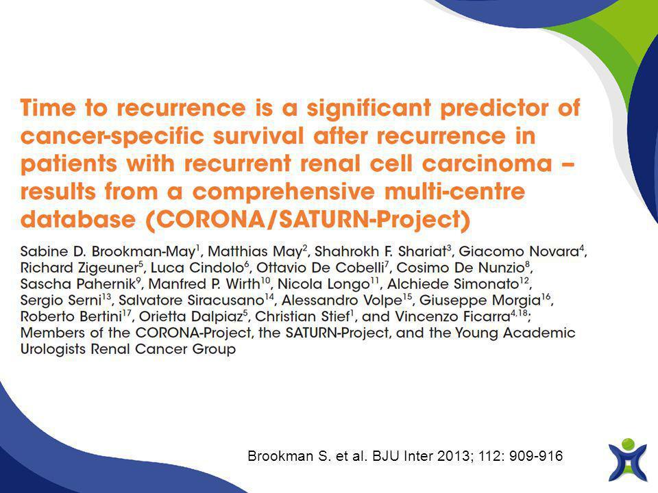Brookman S. et al. BJU Inter 2013; 112: 909-916