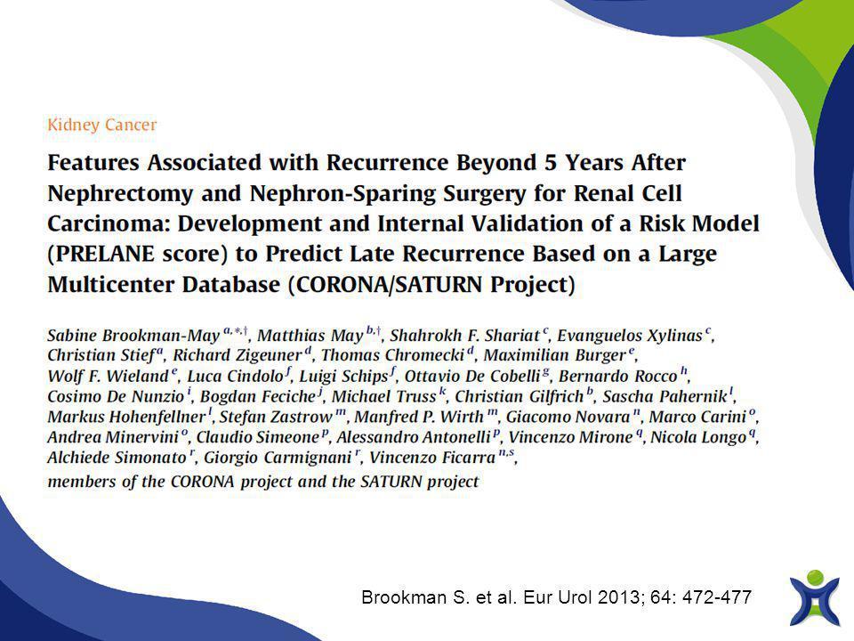 Brookman S. et al. Eur Urol 2013; 64: 472-477