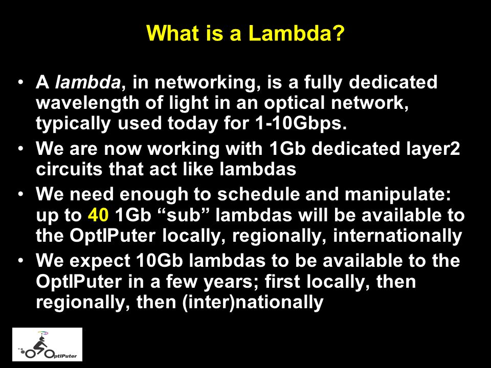 What is a Lambda.