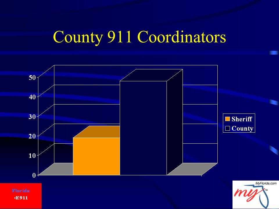 County 911 Coordinators