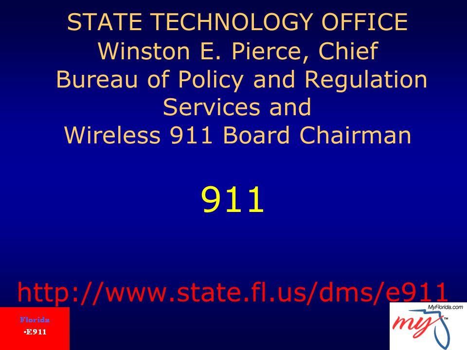 STATE TECHNOLOGY OFFICE Winston E.