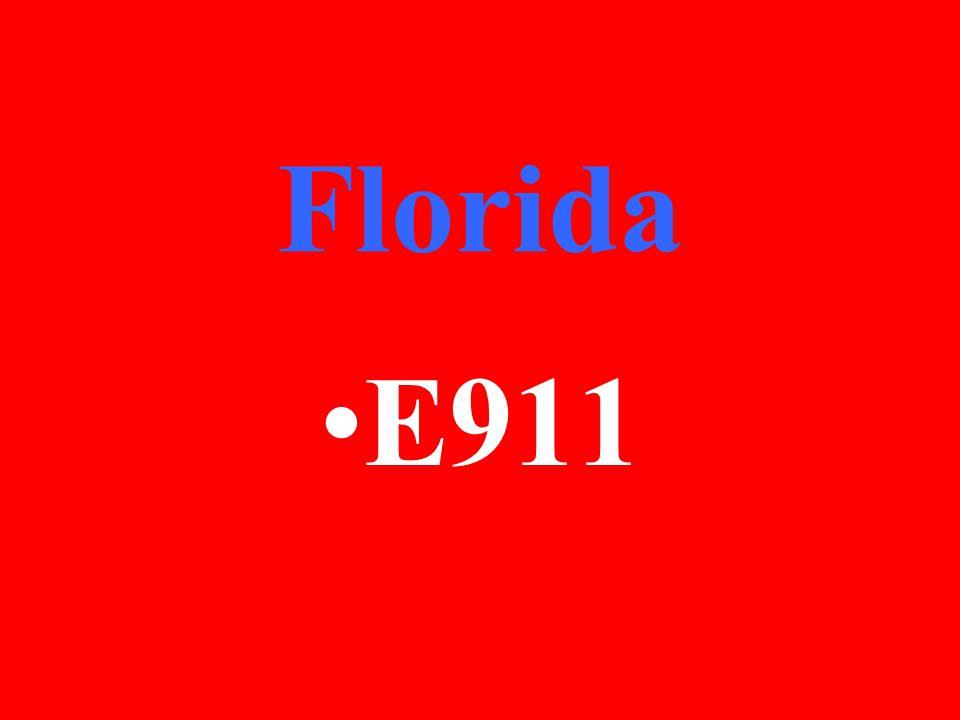 Florida E911