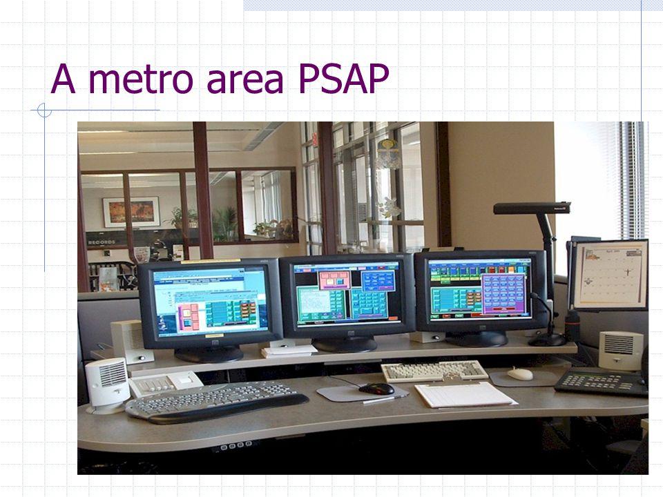A metro area PSAP
