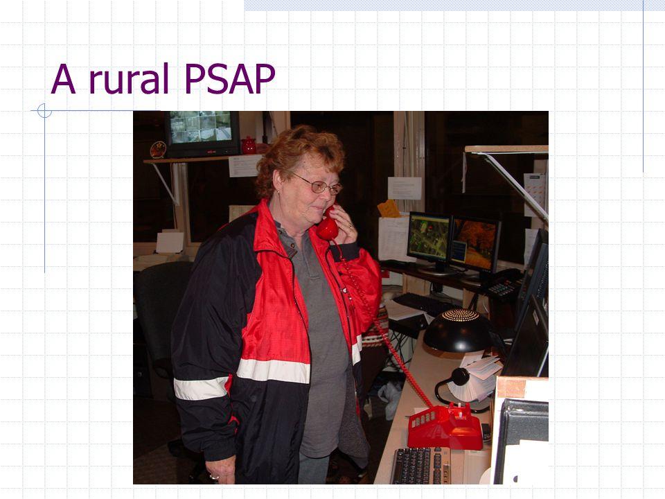 A rural PSAP
