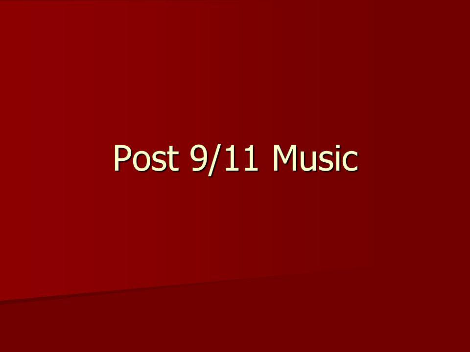Post 9/11 Music