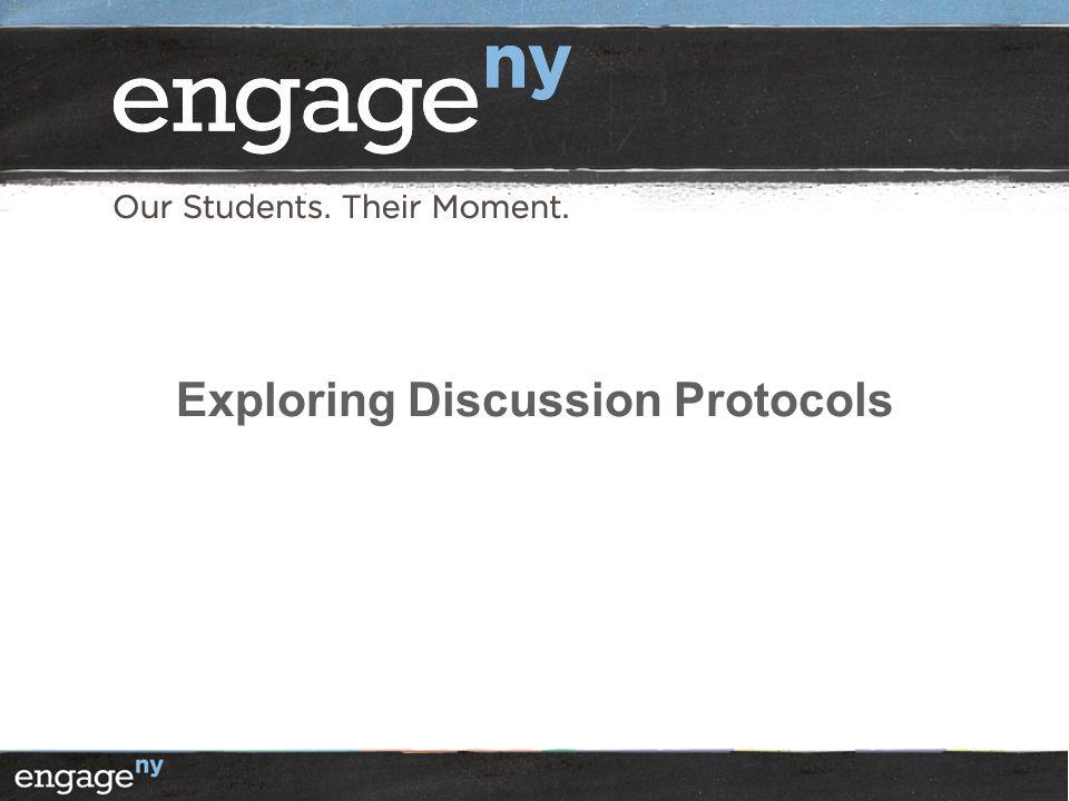 Exploring Discussion Protocols