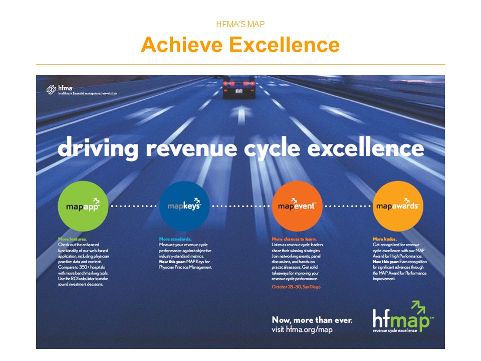 HFMA'S MAP Achieve Excellence 16