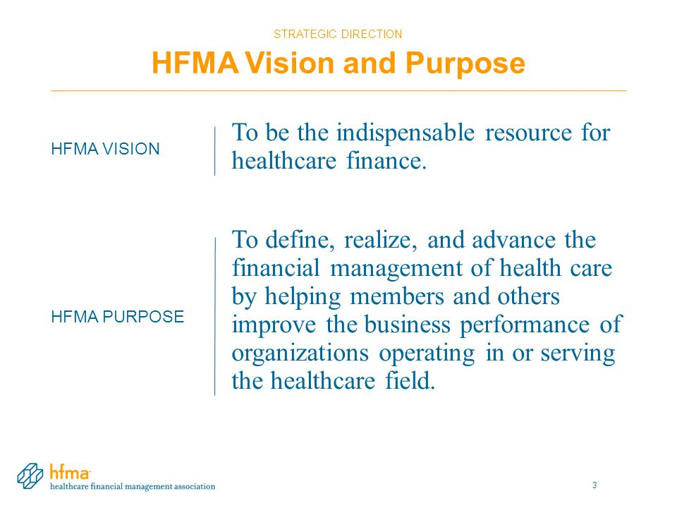 HFMA'S THOUGHT LEADERSHIP Build Value Value Project Objectives Define value in health care Identify trends related to value Identify ways to enhance value Describe new care delivery models that create value 14