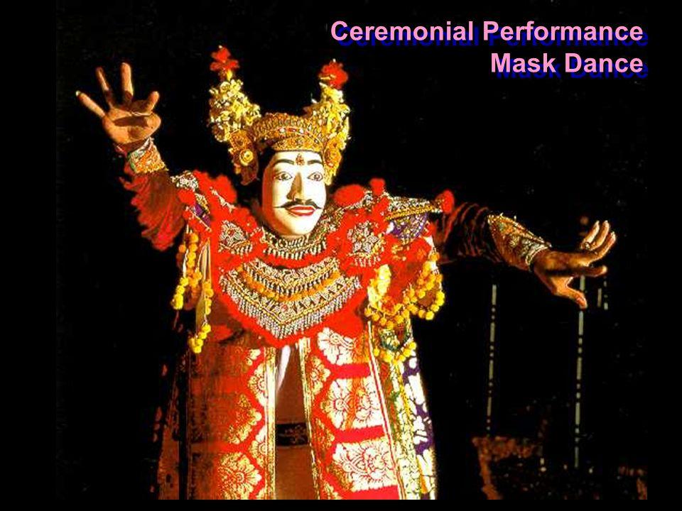 Ceremonial Performance Mask Dance Ceremonial Performance Mask Dance