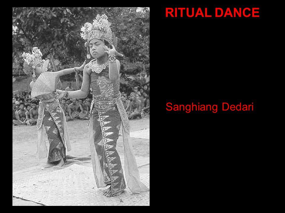 Sanghiang Dedari RITUAL DANCE
