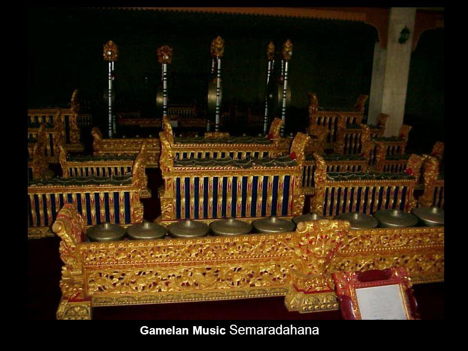 Gamelan Music Semaradahana