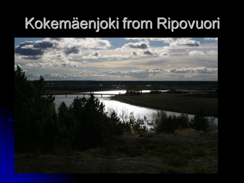 Kokemäenjoki from Ripovuori
