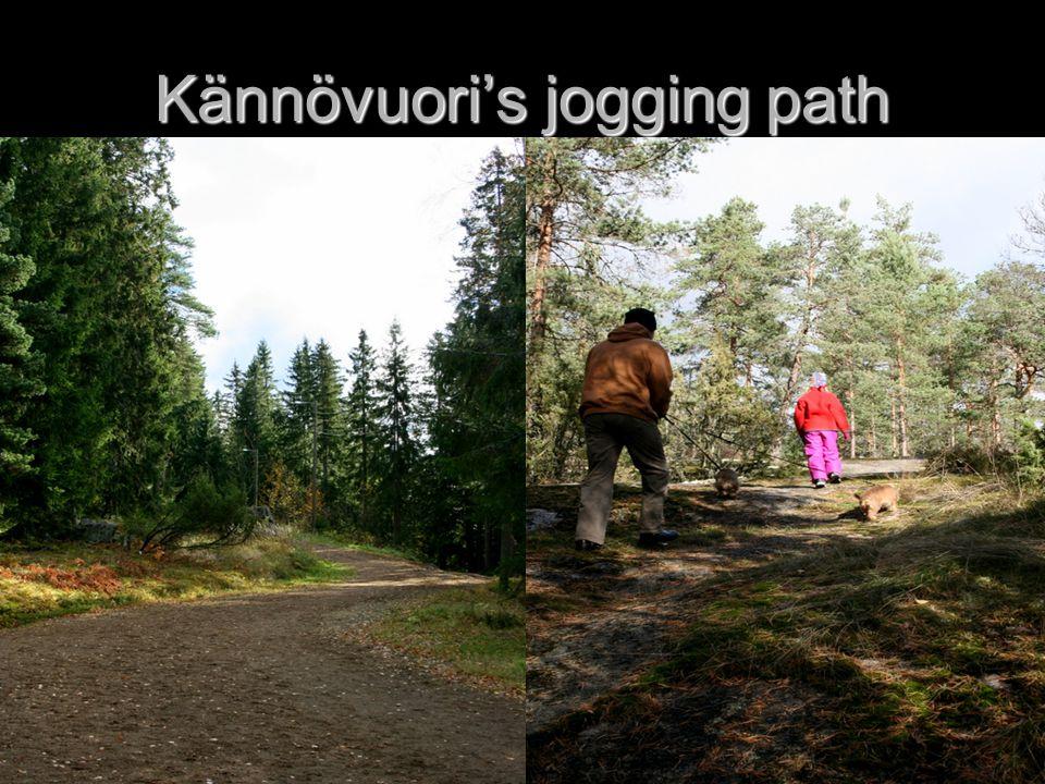 Kännövuori's jogging path