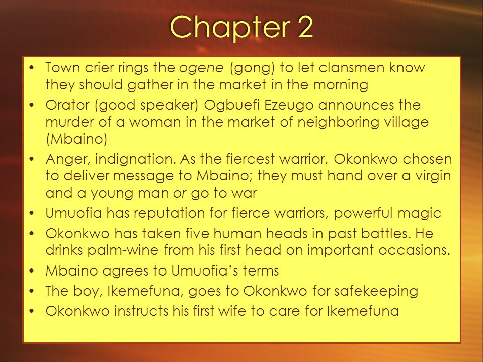 Chapter 3 Unoka never had successful harvest, numerous debts unpaid, couldn't afford titles.