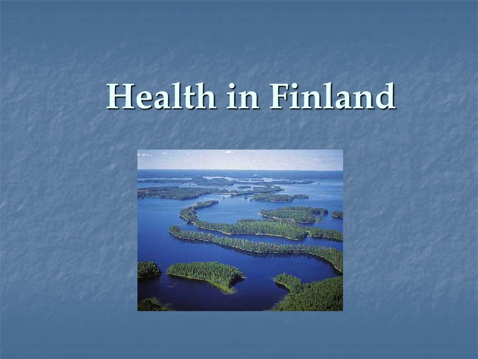 Health in Finland