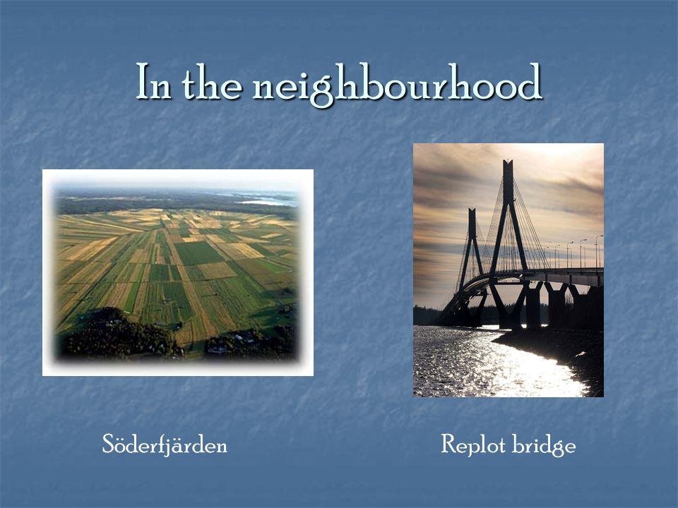 In the neighbourhood Söderfjärden Replot bridge