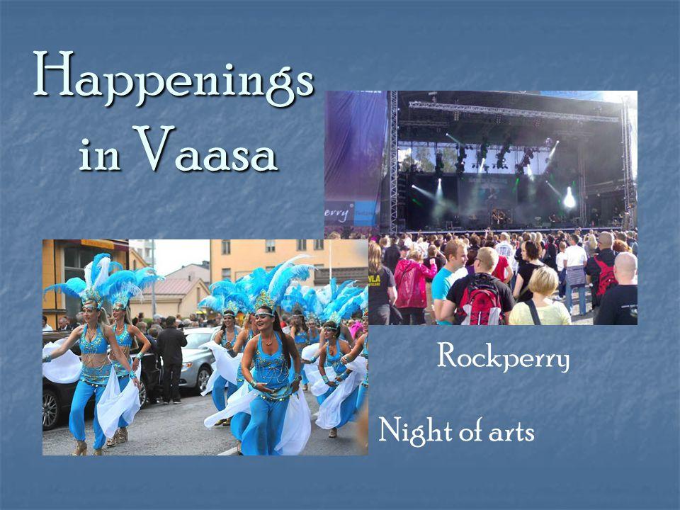 Happenings in Vaasa Rockperry Night of arts
