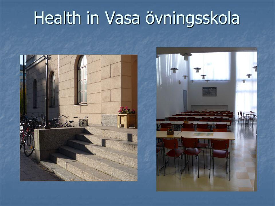 Health in Vasa övningsskola