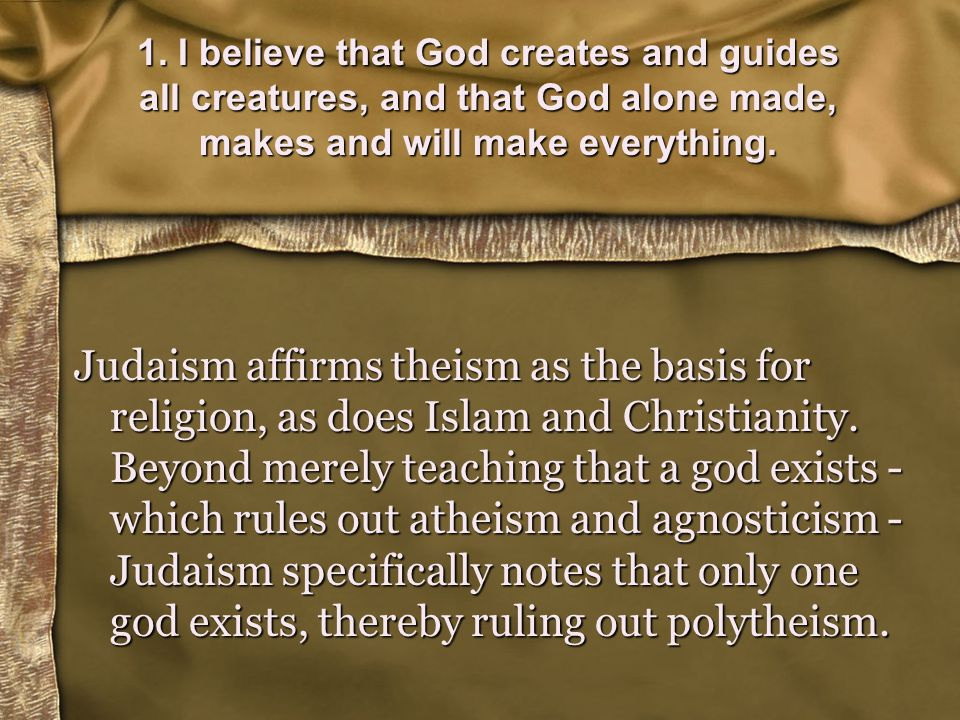 Jewish idea of the Messiah Note that all prophecies regarding the Messiah are allegorical - Only in the Messianic age will we know the meaning of each allegory and what it comes to teach us.