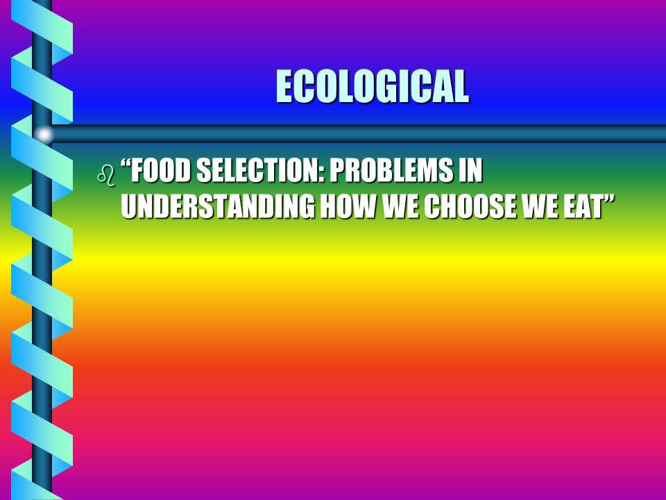 FEEDING STRATEGIES EVOLVED IN ANIMALS : 1.