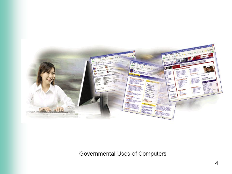 4 Governmental Uses of Computers