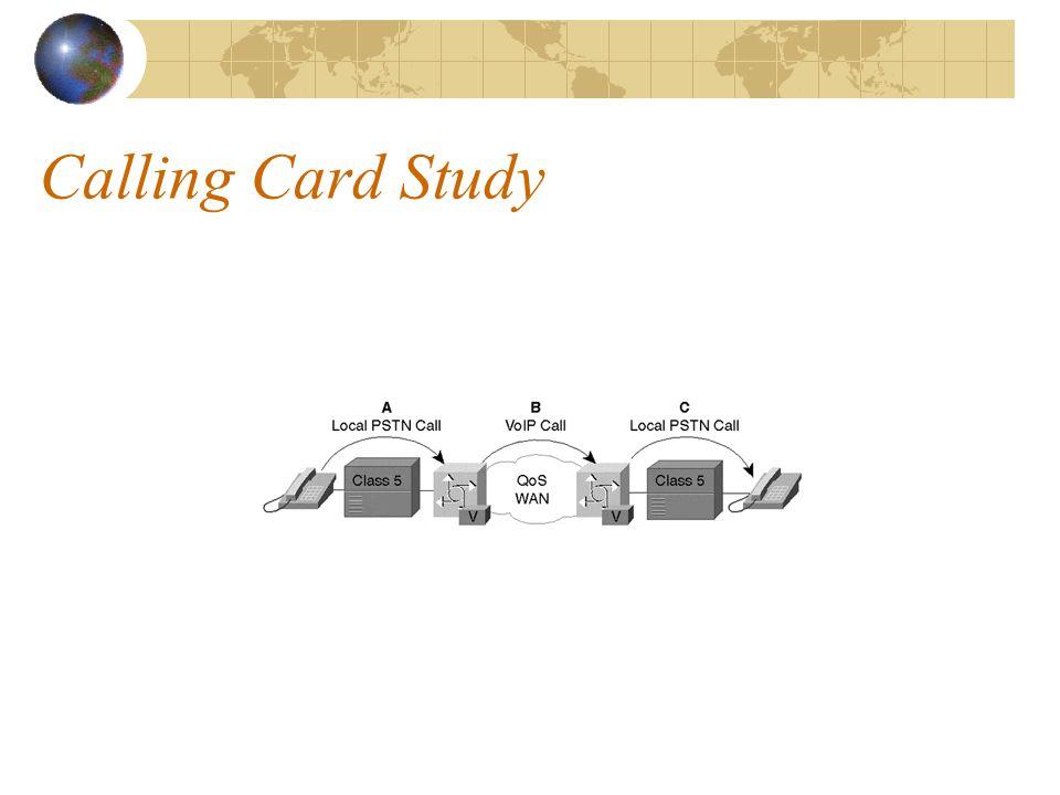 Calling Card Study