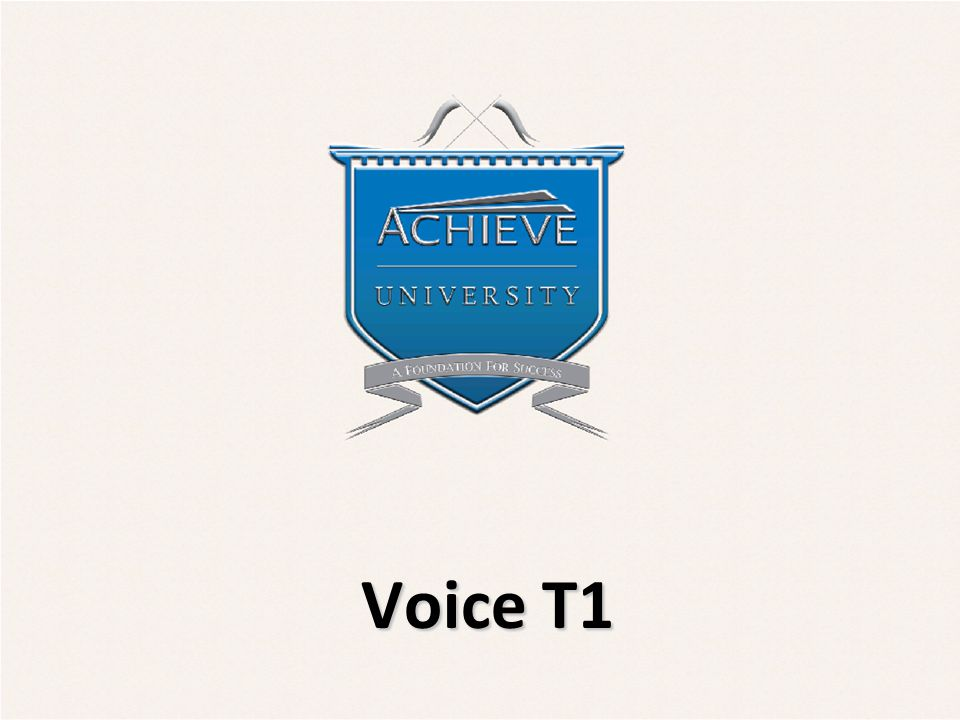 Objectives  Understand functionality of T1s for voice  Differentiate between analog and digital versions of T1 circuits  Recognize the differences between a Voice T1 and a PRI Sales New Hire v2.1 2/19/092