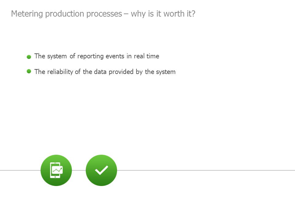 Metering production processes – why is it worth it.