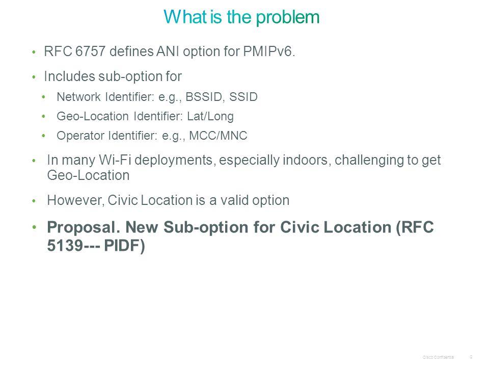 2 RFC 6757 defines ANI option for PMIPv6.
