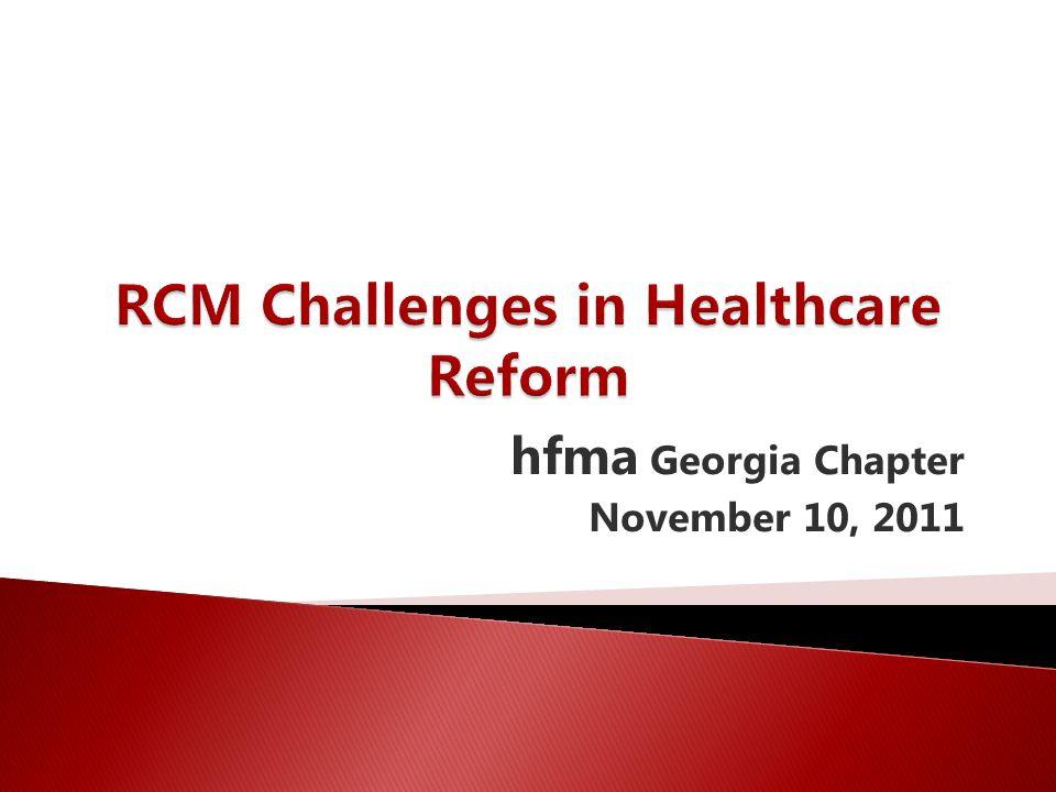 hfma Georgia Chapter November 10, 2011
