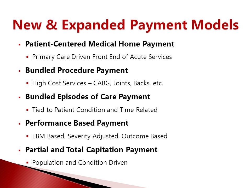  Clinical Service Line Alignment  Clinical Pathway Development  Benchmarking Complex Procedures  Benchmarking Episodes of Care  Modeling Episodes and Procedures  Creating Bundled/Performance Contracts  Adjudicating Bundled Claims  Reporting/Managing Utilization