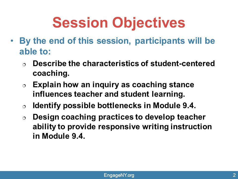 Materials in this Session EngageNY.org3 9.4 Module Overview 9.4 Module Text Excerpts 9.4.