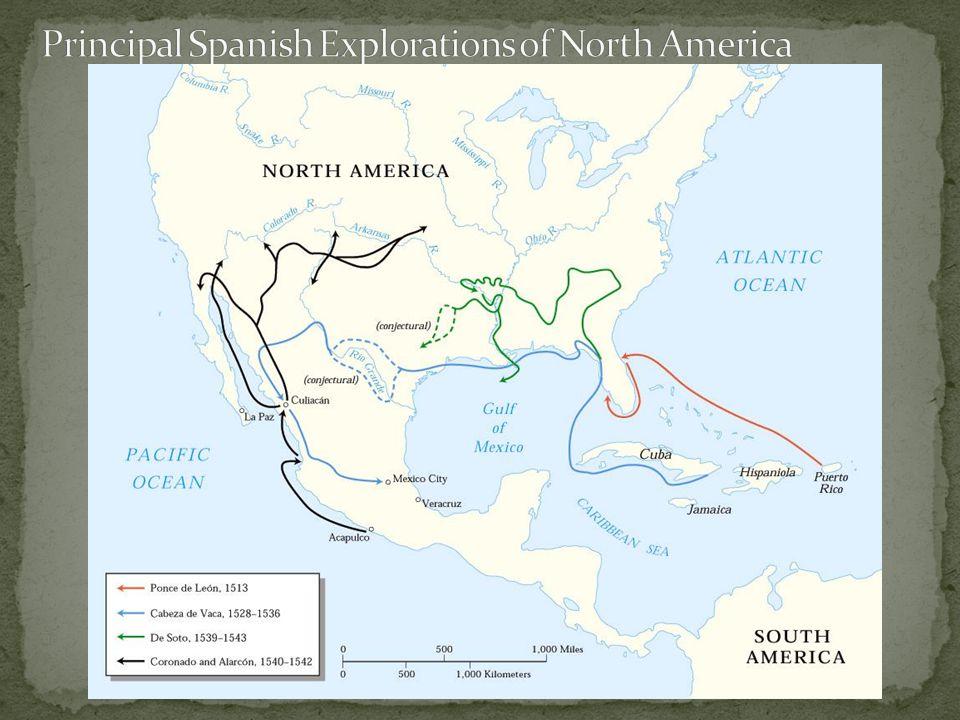 Giovanni da Verrazano explored Atlantic coast from Carolinas to Nova Scotia in 1534 Jacques Cartier explored St.