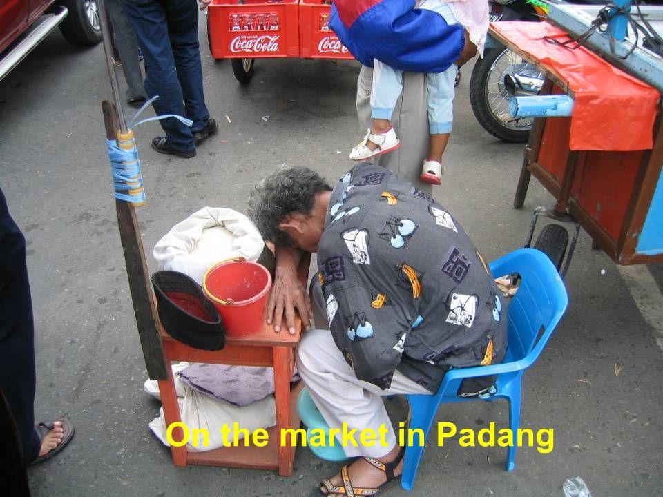 Market in Padang