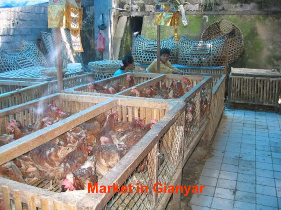 Market in Gianyar